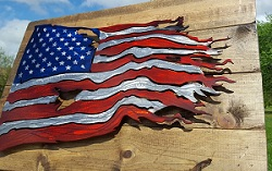 Order Your Battle Worn American Flag