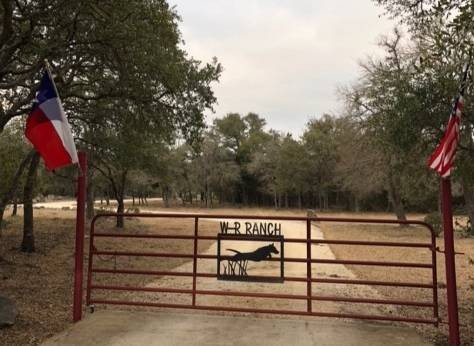 W-R Ranch Entrance