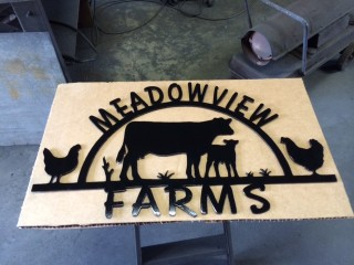 Meadowview Farms sign