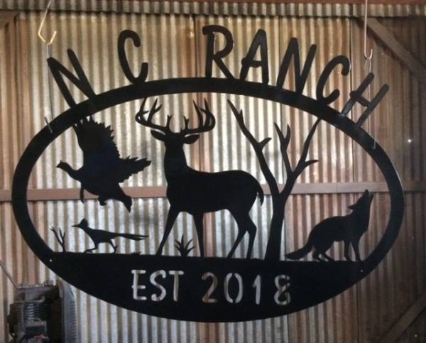 NC Ranch Sign