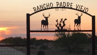 Rancho Padre Viejo - Ranch Sign