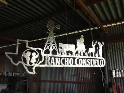 Rocksprings ranch sign