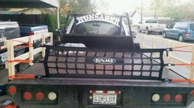 Truck Headache Rack Name Plate